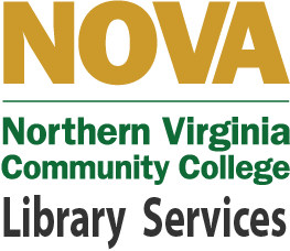 Northern Virginia Community College (NOVA) Logo and text for Library Resources