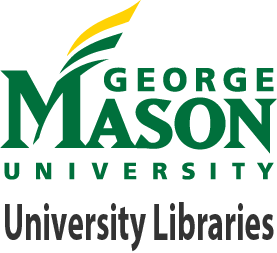 Logo of GMU with text University Libraries