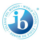a graphic of the ib logo